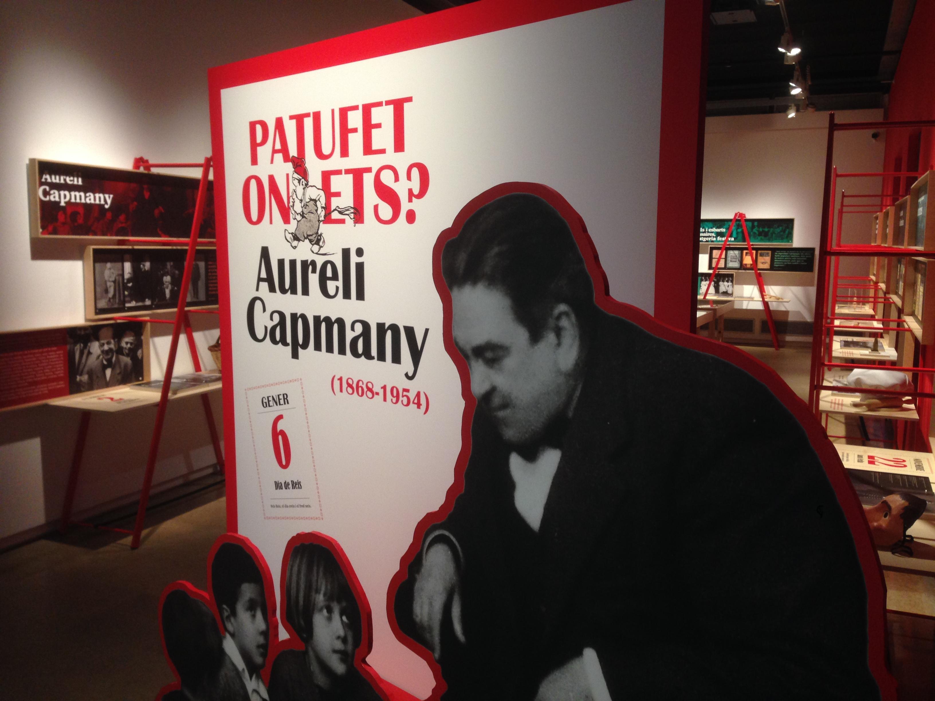 Exposició 'En Patufet', al Palau Robert.