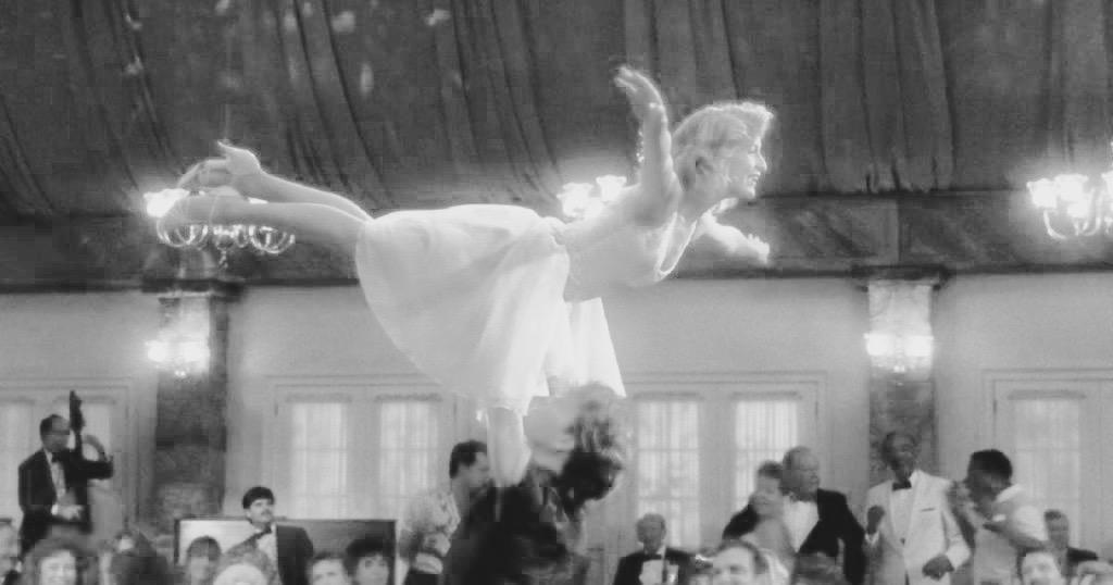 Una de las escenas más famosas de Dirty Dancing