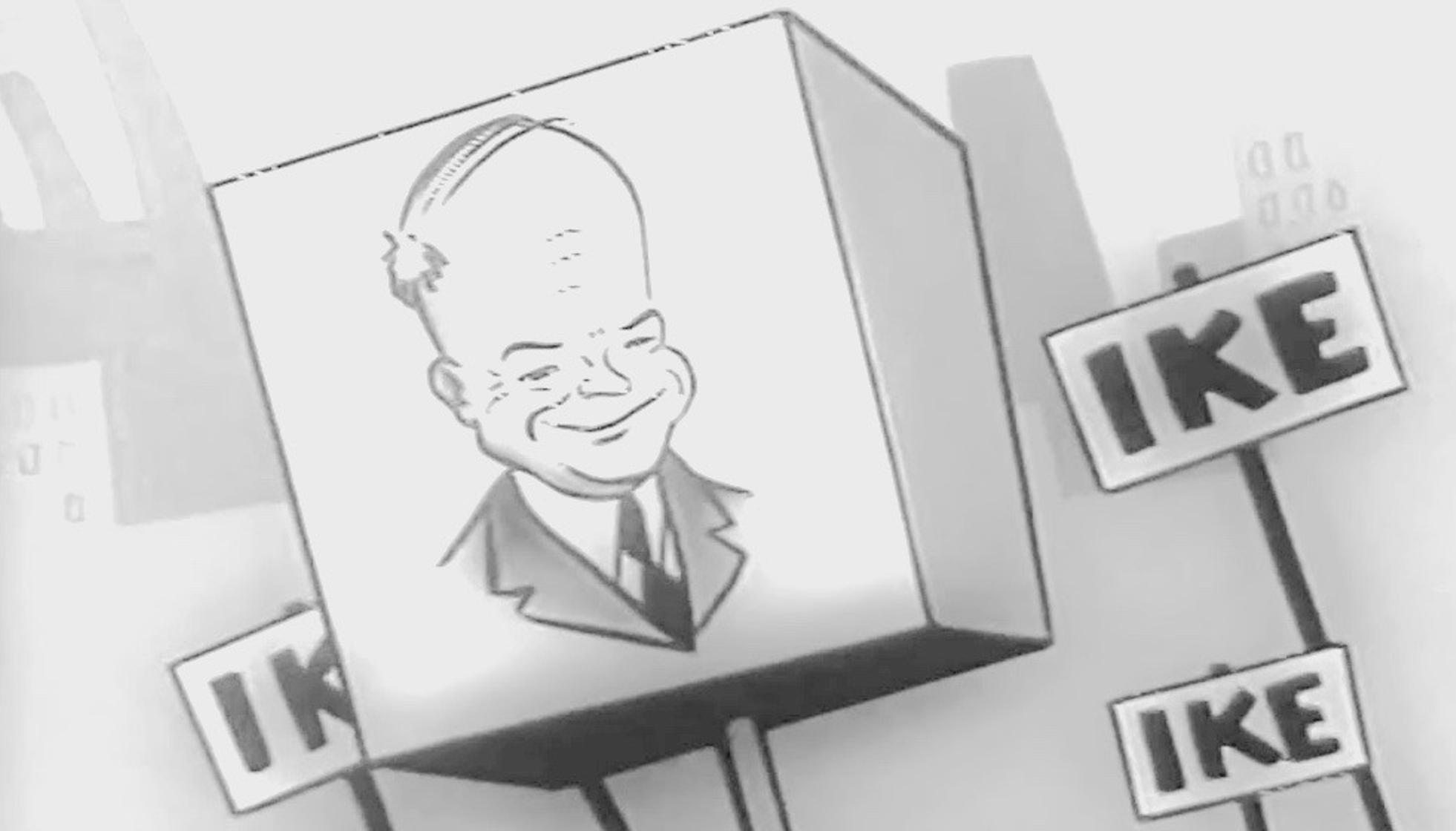 Imagen de la campaña 'I like Ike'