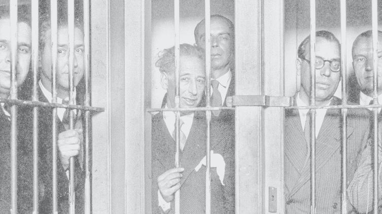 Lluís Companys i membres del seu govern, empresonats