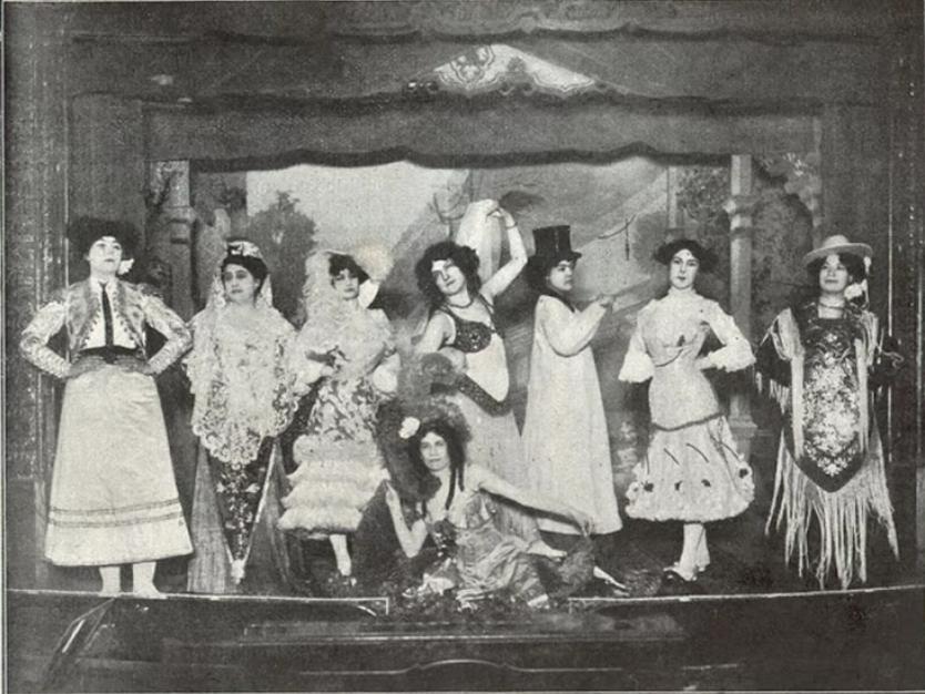 Ballarines de l'Edén Concert.