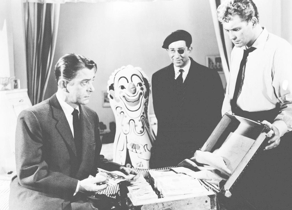 Un fotograma de 'Rififi', fil del 1955.