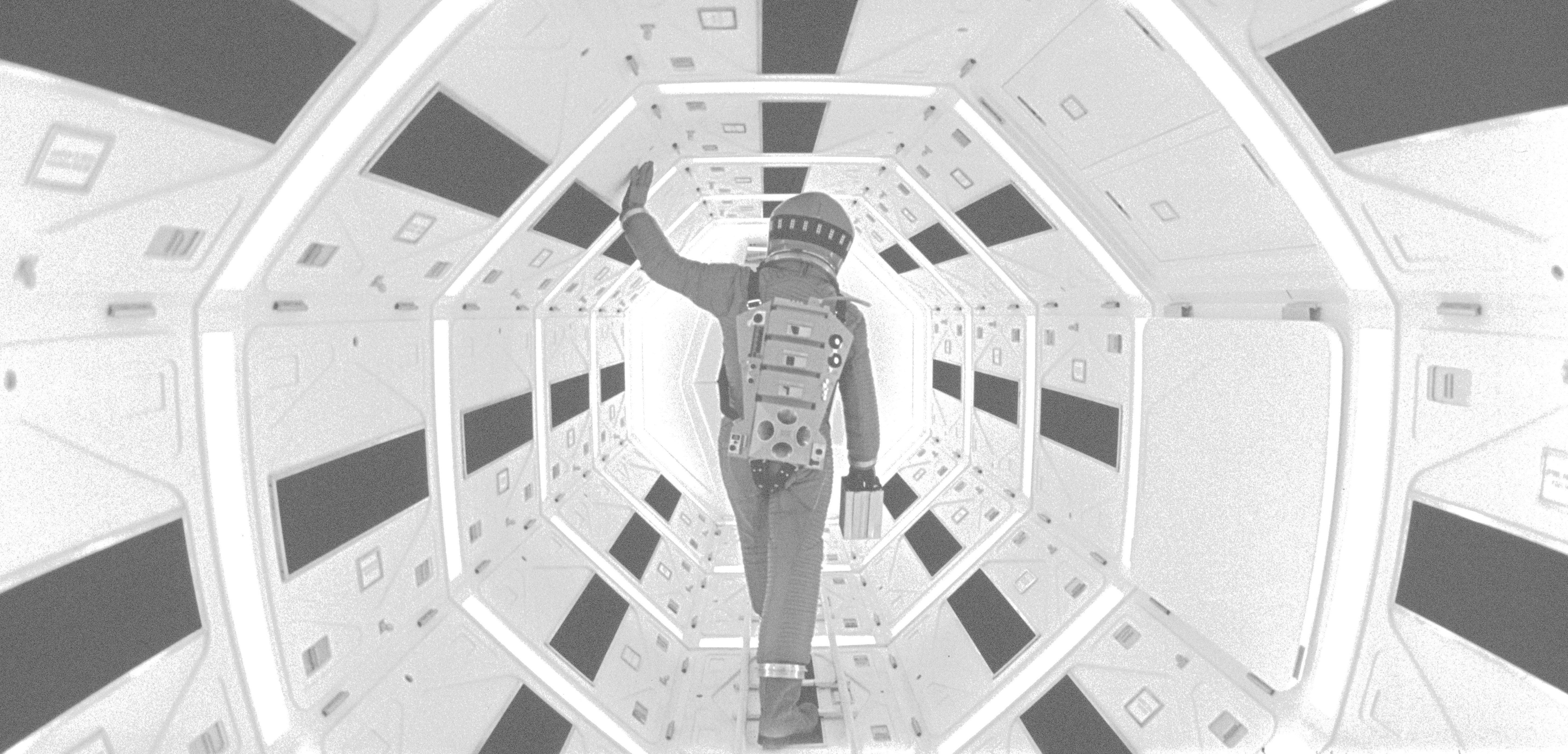 Un fotograma del film 2001, una odissea de l'espai. / Foto: CCCB