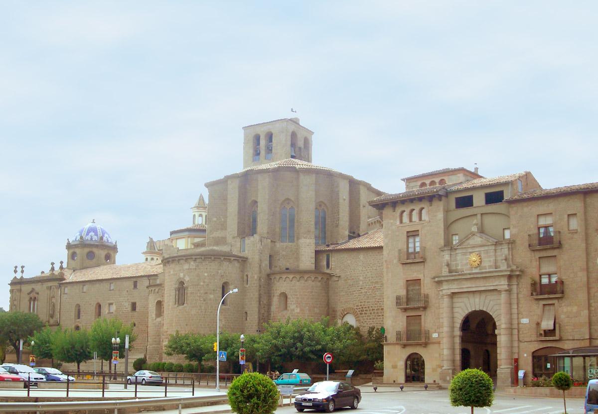 Catedral i portal del Pont a Solsona